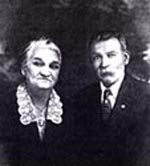 Josephine and Joseph Ulrich at their  50th Anniversary, Fort Dodge, Iowa, 1923.